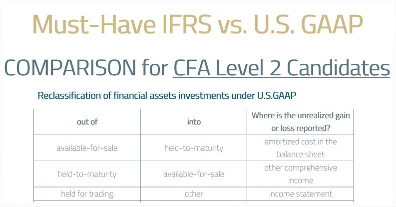 Must-Have IFRS vs. U.S. GAAP Comparison Level 2